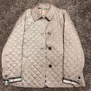 Women's Burberry Brit quilted jacket XXL beige